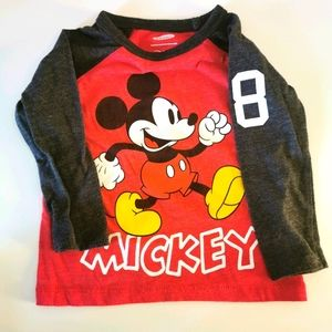 *3/$10* Disney Micky Mouse Long Sleeve Shirt